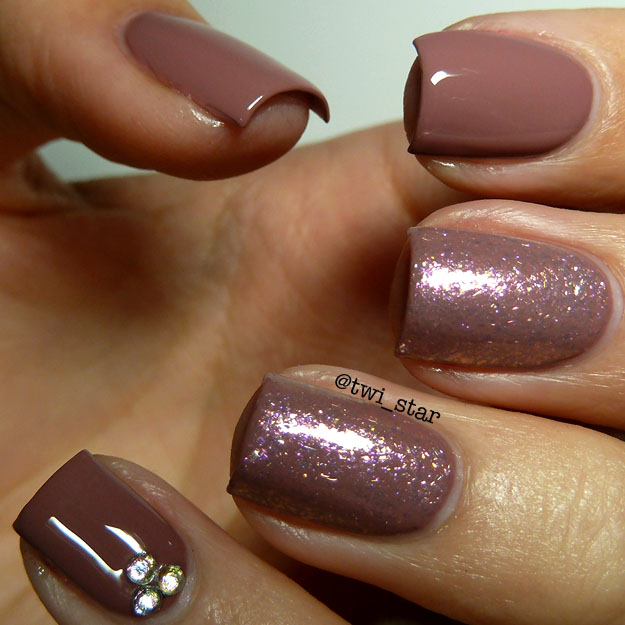 Mauve Nail Art | Best Nail Designs 2018