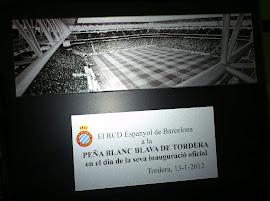 Record commemoratiu del RCD Espanyol de Barcelona 2012