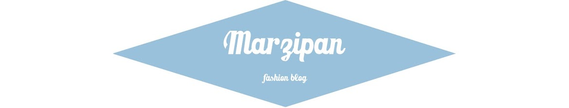 Marzipan - fashion blog
