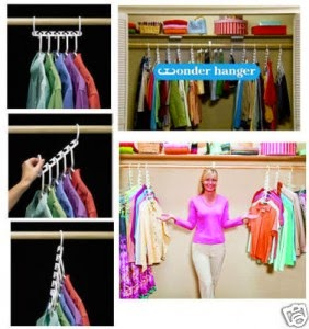 Review Harga Wonder Hanger 8 Pack As Seen On TV Gantungan Baju Praktis