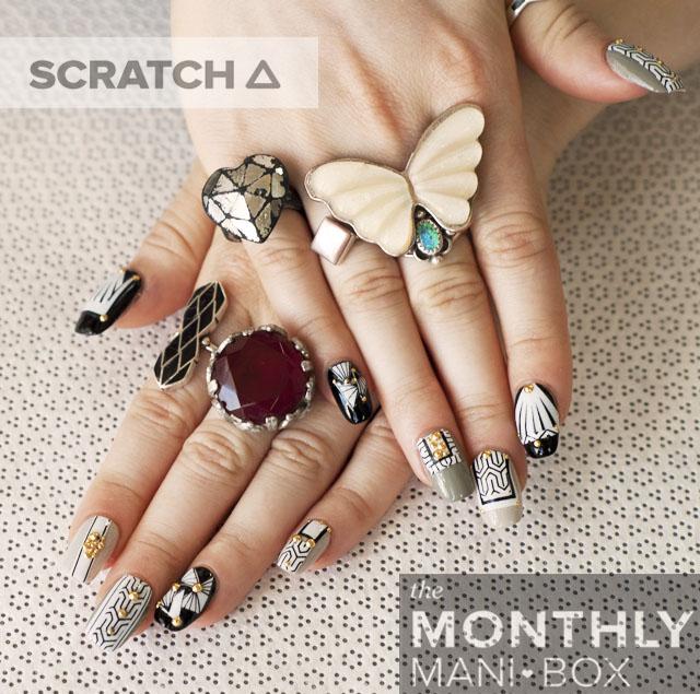Scratch Monthly DIY Nail Art Box