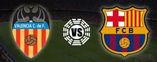 Partido Valencia Vs Barcelona – Semifinal de Ida