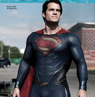 """This Week's Cover: Behind the soulful new 'Man of Steel' by EW staff Tags: CapeTown: Movies, Comic Books, Man of Steel, This Week's Cover, Movies       Comments +     Add comment  1255-1256-EW-COVER-MANOFSTEEL.jpg  The makers of Man of Steel had to start thinking like a cadre of supervillains: how do you get under Superman's invincible skin and really make him hurt?  This week's cover story reveals how the new film (out June 14) attempts to humanize the superhuman by finding new flaws and vulnerabilities. The most common one, however, was off the table: """"I'll be honest with you, there's no Kryptonite in the movie,"""" says director Zack Snyder (300, Watchmen) Those glowing green space rocks – Superman's only crippling weakness – have turned up so often as a plot point in movies, the only fresh option was not to use it. Anyway, if you want to make an audience relate to a character, a galactic allergy isn't the way to do it.  Henry Cavill (Immortals), the latest star to wear the red cape, instead plays a Superman who isn't fully comfortable with that god-like title. This film reveals that even on Krypton, young Kal-El was a special child, whose birth was cause for alarm on his home planet. (More on that in the magazine) And once on Earth, his adoptive parents, Ma and Pa Kent (Kevin Costner and Diane Lane), urge him not to use his immense strength – even in dire emergencies — warning that not every human would be as accepting of him as they are. So Clark Kent grows up feeling isolated, longing for a connection to others, and constantly hiding who he is. As a result, Man of Steel presents the frustrated Superman, the angry Superman, the lost Superman. """"Although he is not susceptible to the frailties of mankind, he is definitely susceptible to the emotional frailties,"""" Cavill says.  That's just the set-up. Once the Kryptonian villain General Zod (Boardwalk Empire's Michael Shannon) arrives to threaten the Earth, eventually the passionate Superman steps forward, too. It help"""