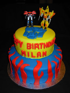 Transformers Birthday Cakes Design
