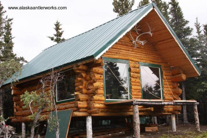 Arquitectura de casas dise os y modelos de caba as y cabinas for Alaska log home plans
