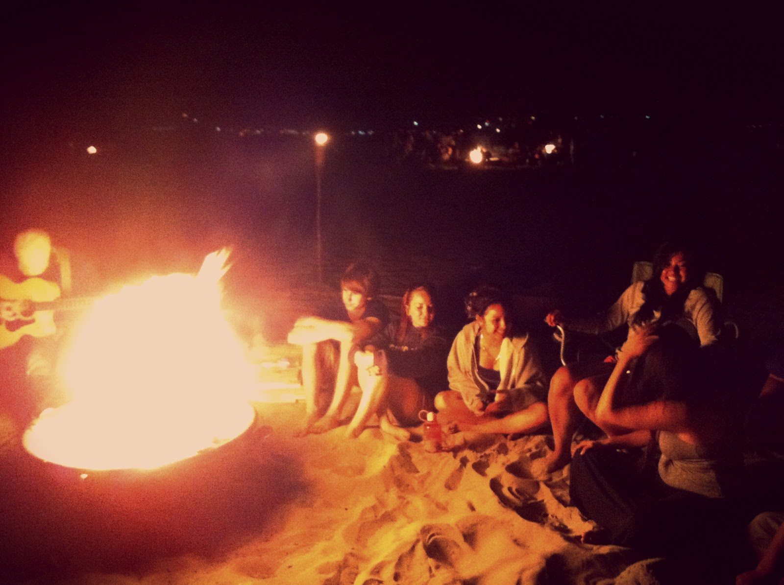 Bonfire With Friends