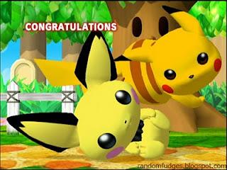 pichu melee classic congratulations