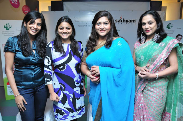 Kushboo Sundar In Saree PhotosActress Kushboo Blue Saree Stills  stills