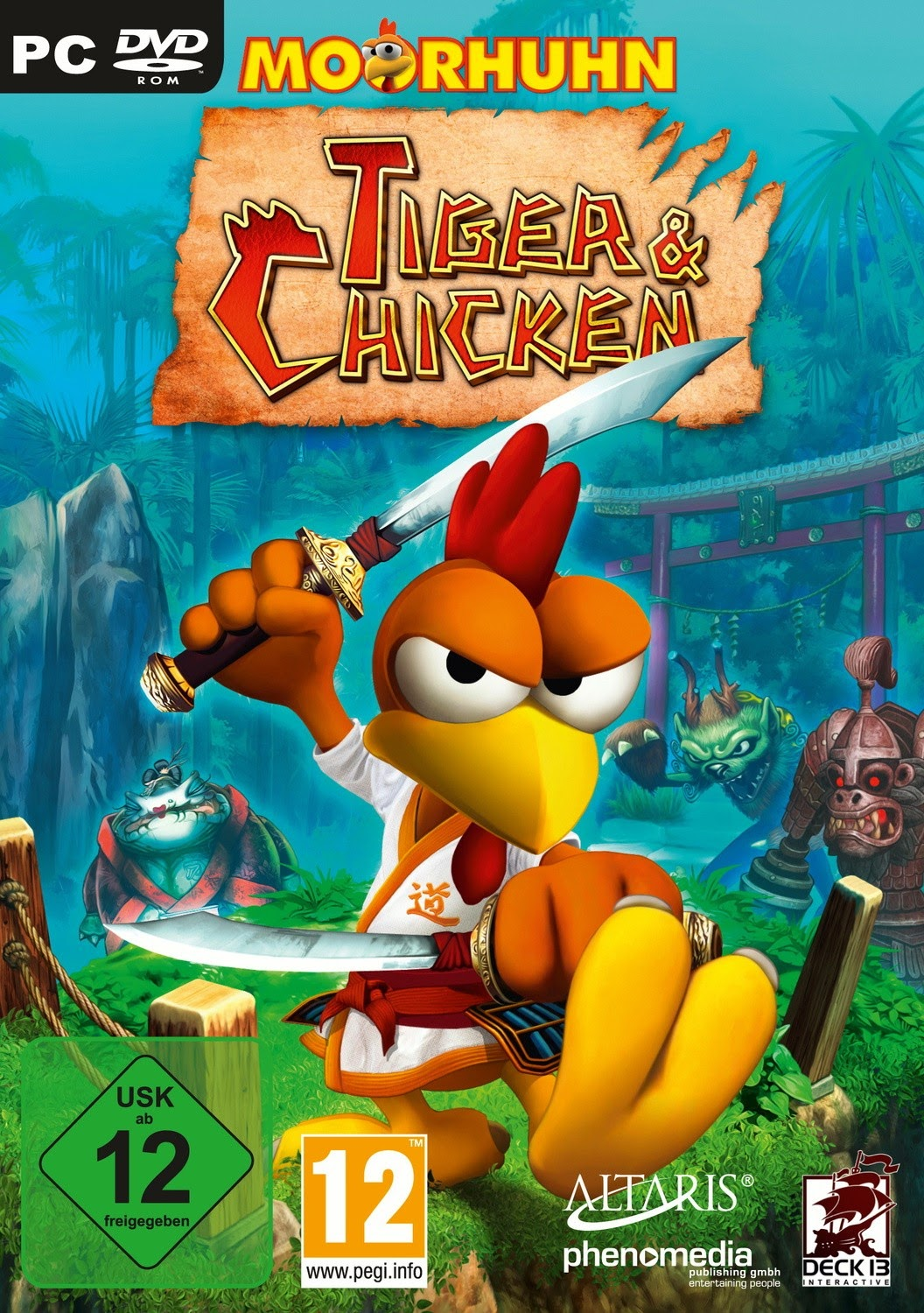 MOORHUHN TIGER AND CHICKEN PC GAME CRACK FULL DOWNLOAD