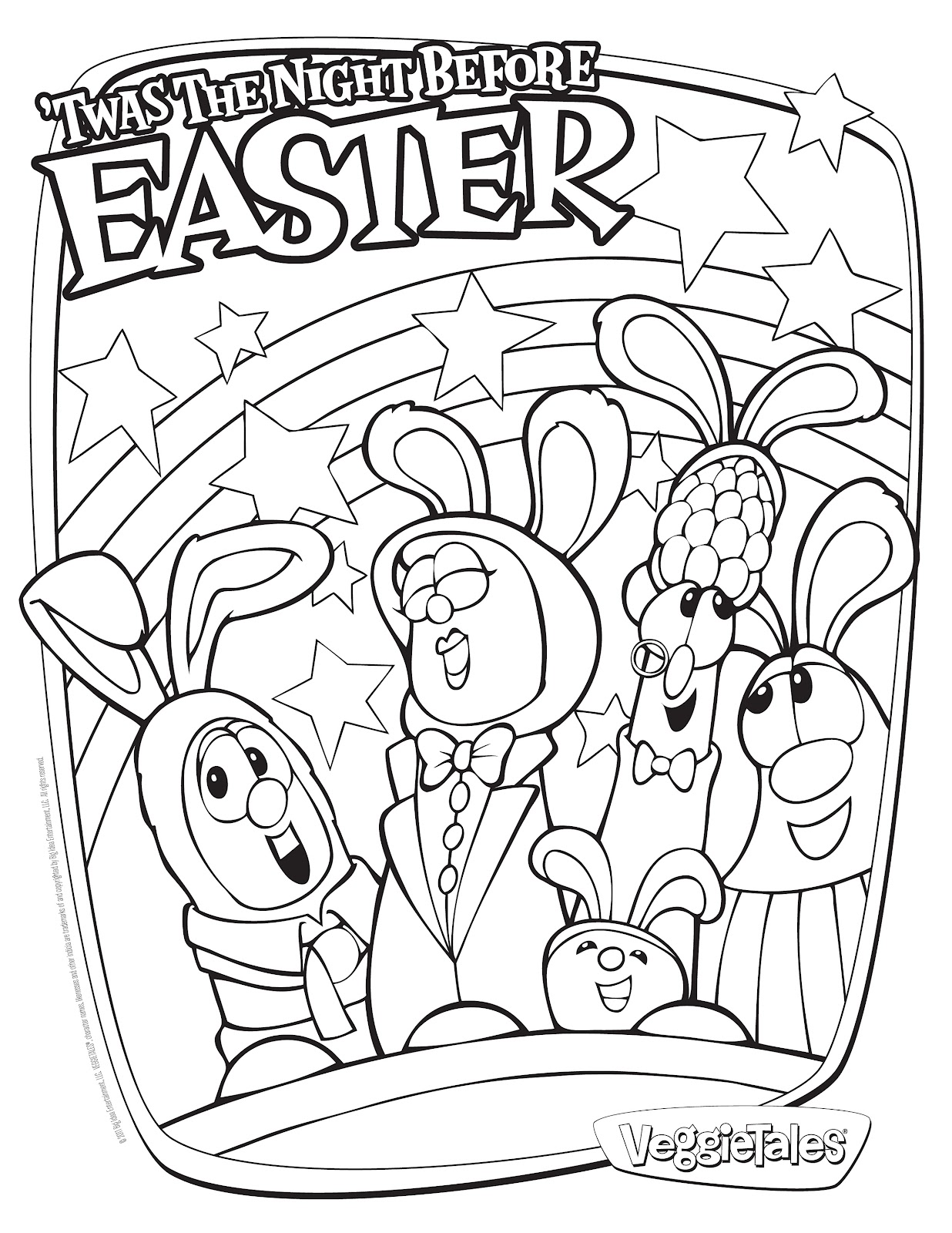 Coloring Pages Religious : Free easter christian coloring pages