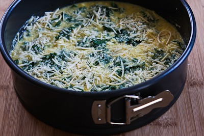 Low-Carb Artichoke, Kale, and Ricotta Pie with Eggs and ...