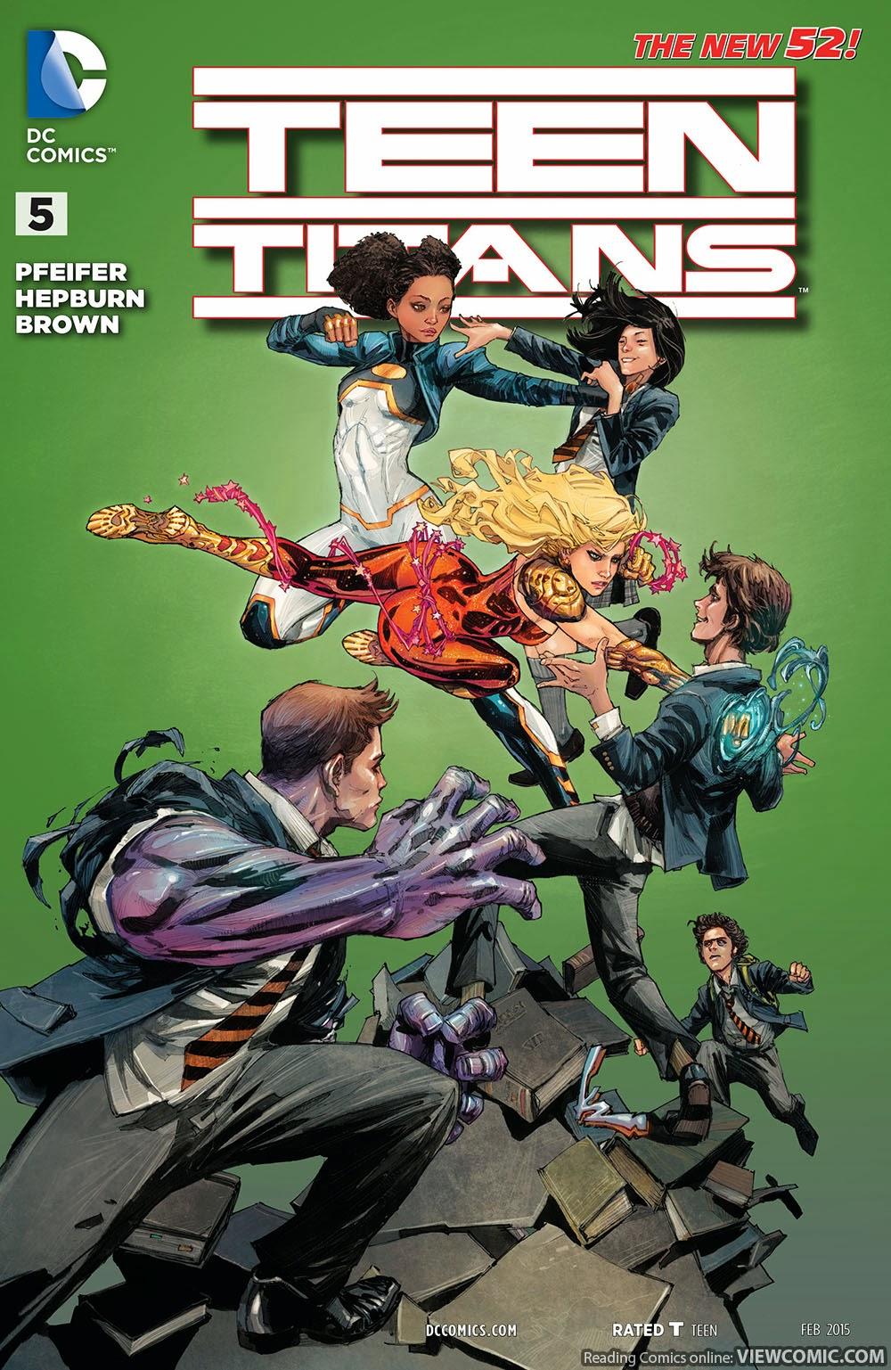 Online Teen Titans beobachten
