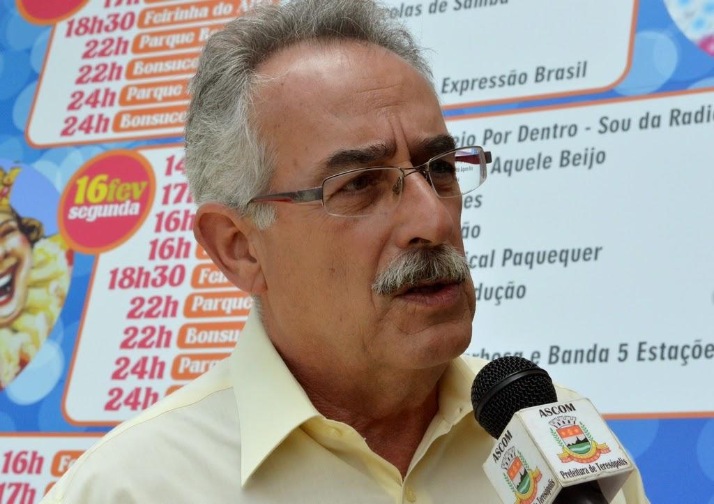 Secretário de Turismo, Carlos Tucunduva, destaca que equipes da Prefeitura estarão de prontidão para atender os foliões