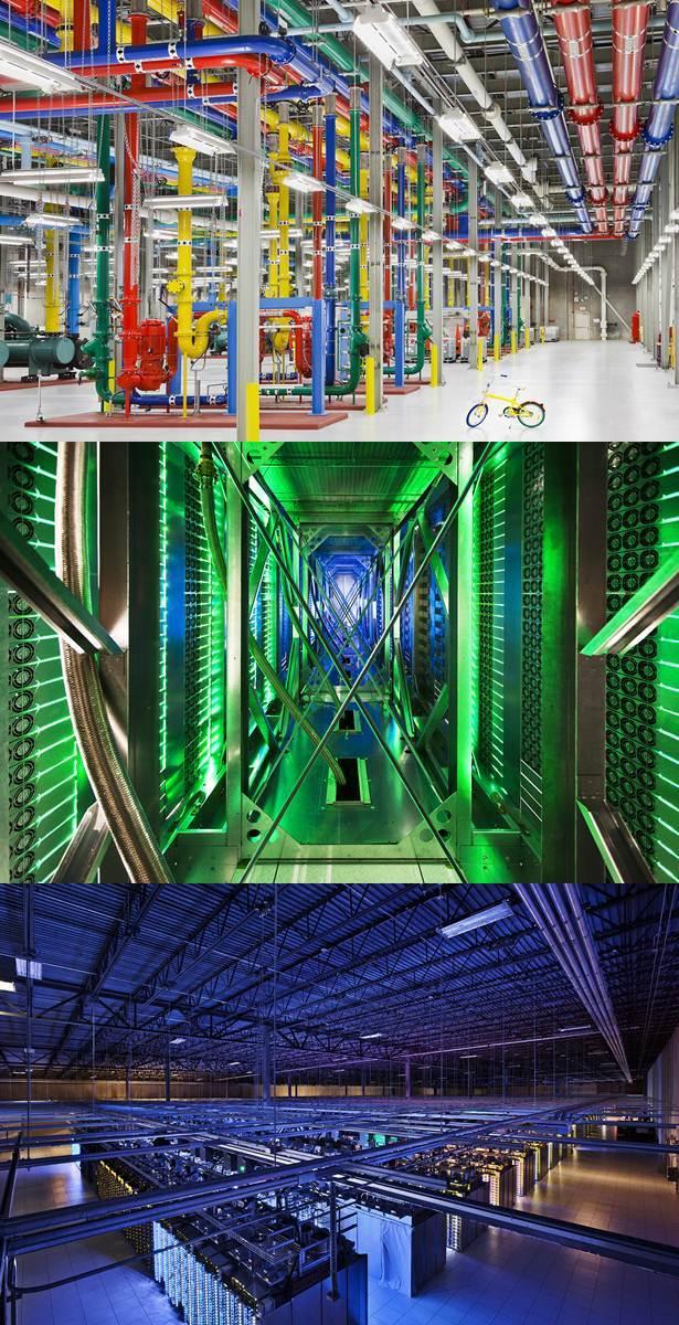 google data center di dedahkan kepada pengguna internet dunia