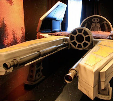 dormitorio star wars