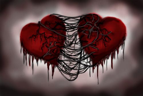 Koleksi Gambar EMO Cinta Romantis Terbaik