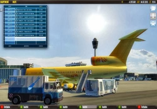 Features of Airport Control Simulator