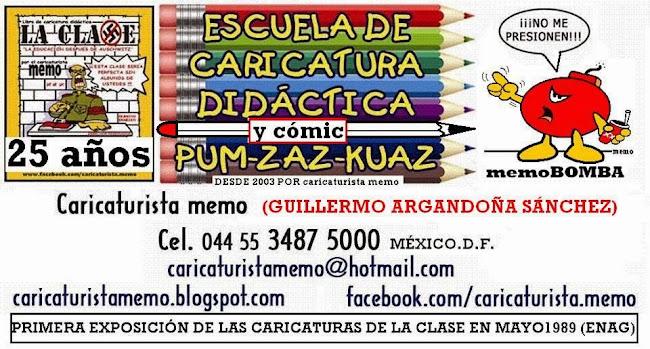 ESCUELA DE CARICATURA por caricaturistamemo
