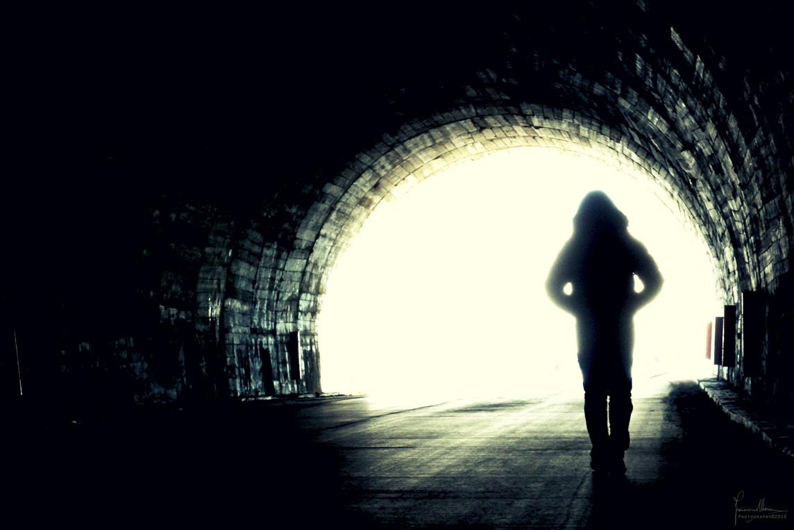 angels walking in tunnel wallpaper - photo #44