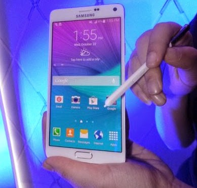 Kehadiran Samsung Galaxy Note 4 di Indonesia, Berapa Harganya ??