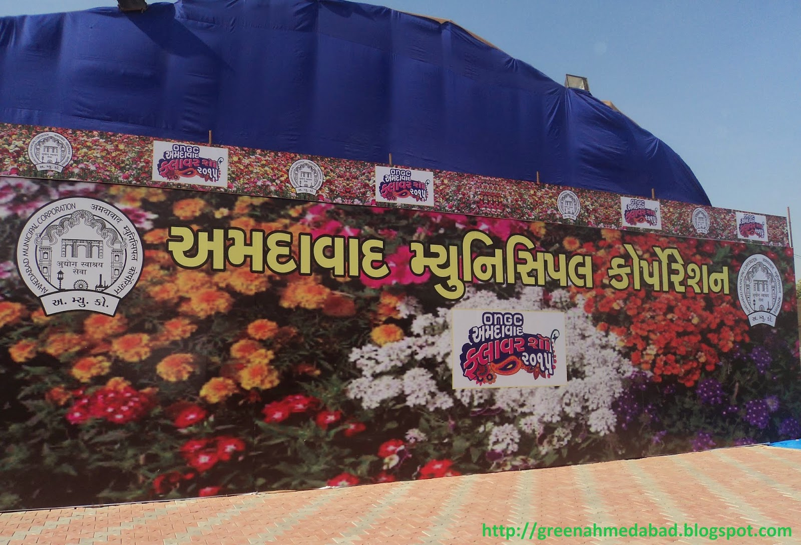 flower show ahmedabad 2015