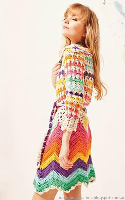 Florencia Llompart moda verano 2014 tejidos.