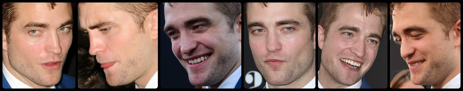 Hermosas caras del actor Robert Pattinson