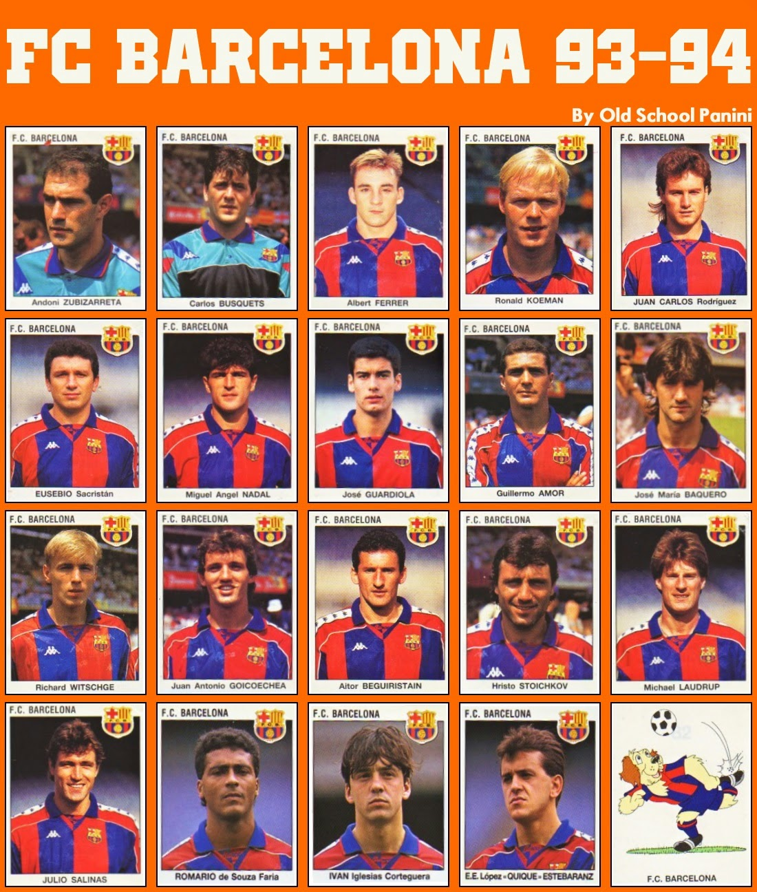 7 janvier 1995 Real Madrid 5 FC Barcelone 0