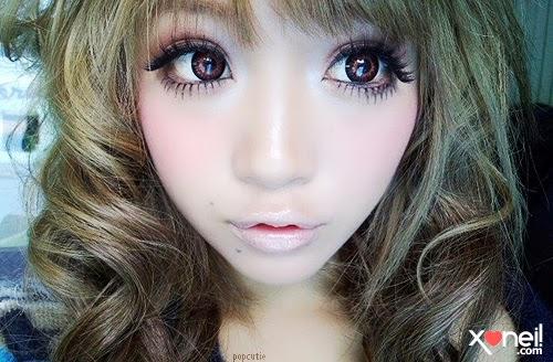 Maquiagem poderosa oriental
