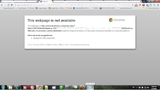 Error Chrome 