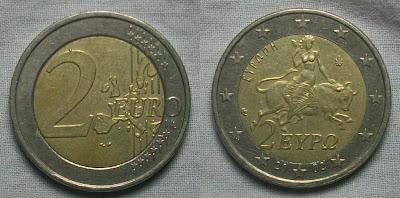 Greece 2 euro 2002 europa