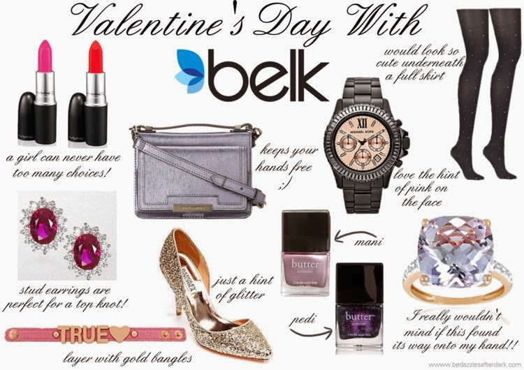 Valentine's Day Wish List with Belk