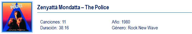 Zenyattà Mondatta - The Police