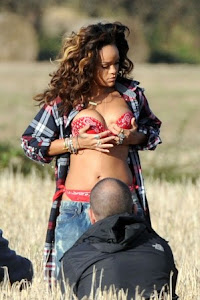 Rihanna hizo topless en grabación del video 'We Found Love'