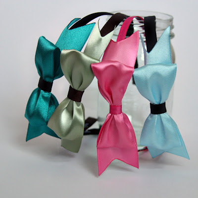 The Perfect Bow Headbands by Tricia @ SweeterThanSweets