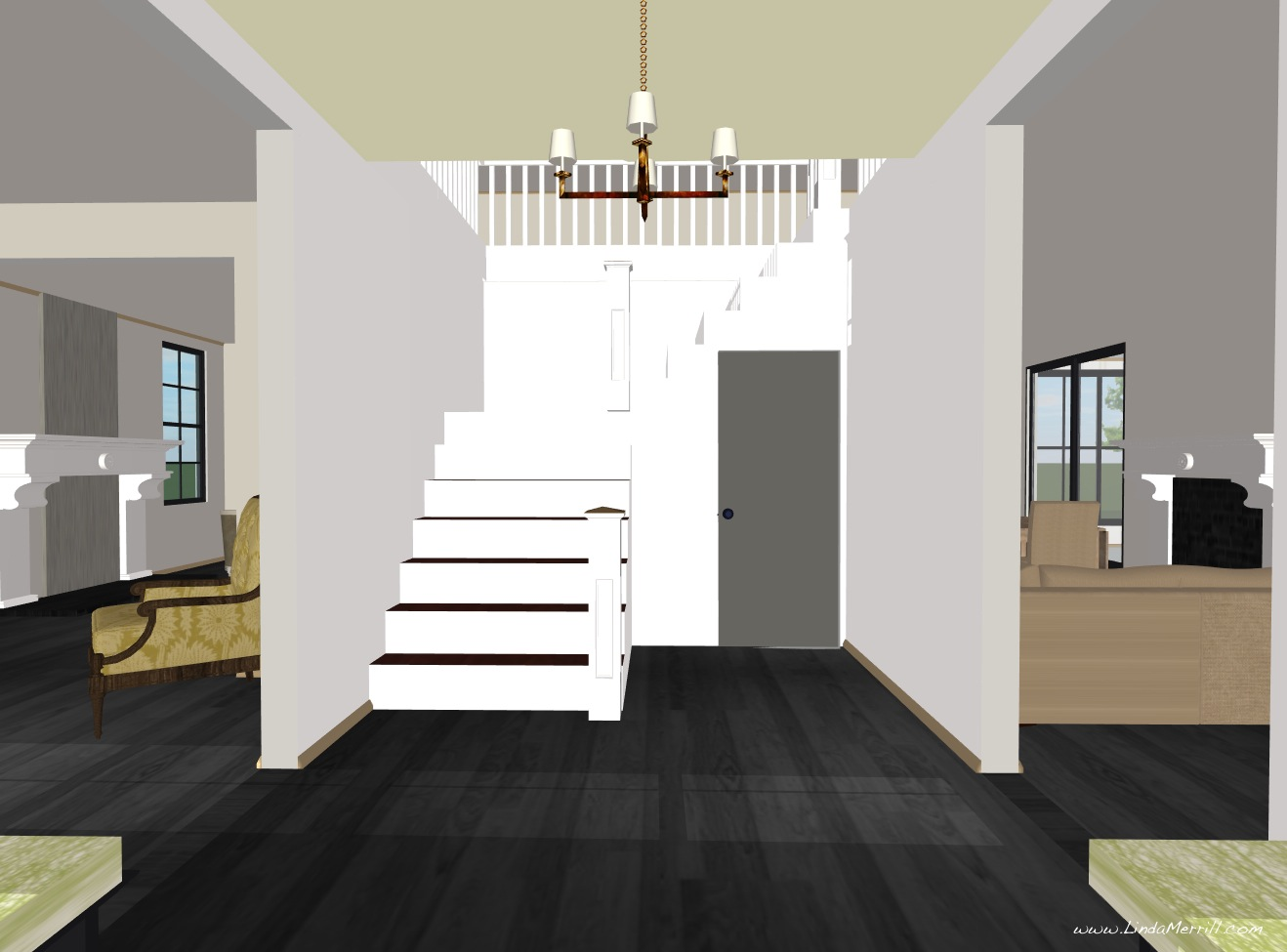 Foyer Stairs Utah : Home design interior linda s dream roof lines and