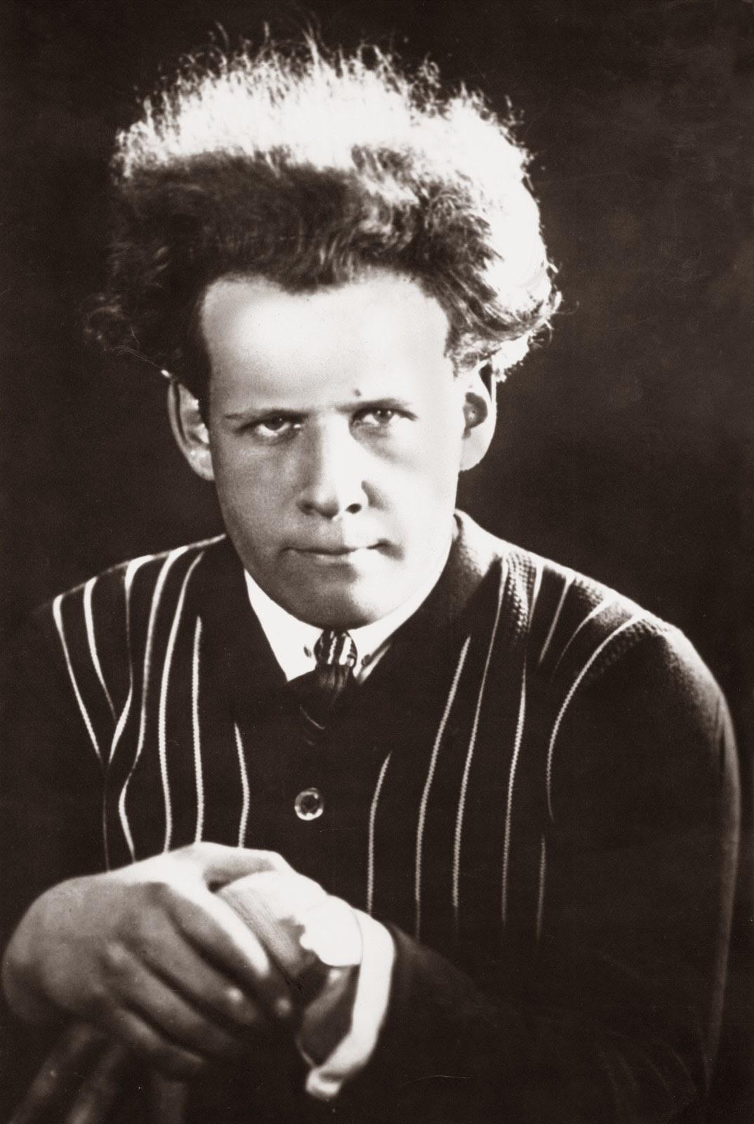 Fotografía de Sergei Eisenstein en 1910