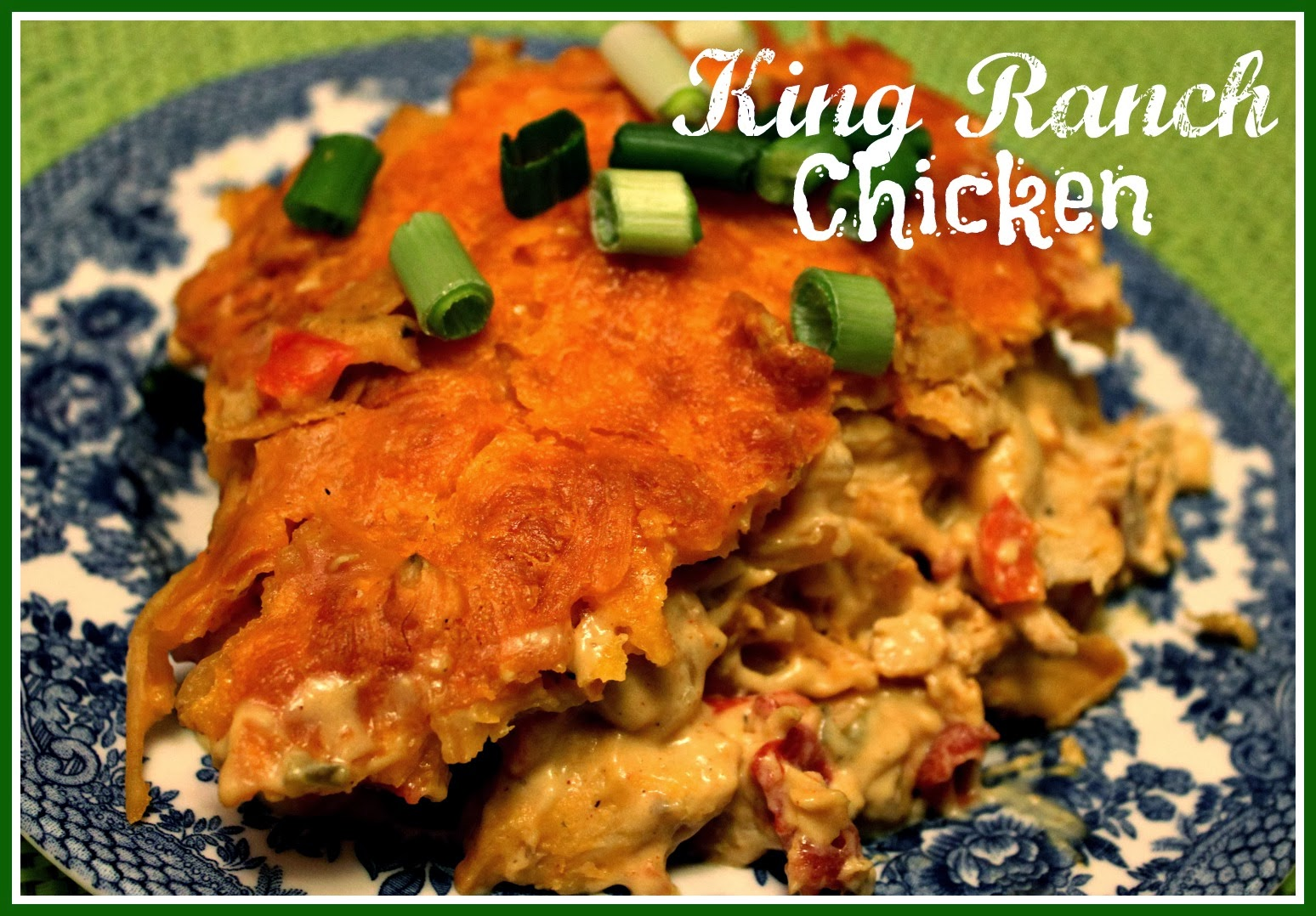 Sweet Tea and Cornbread: King Ranch Chicken Casserole!
