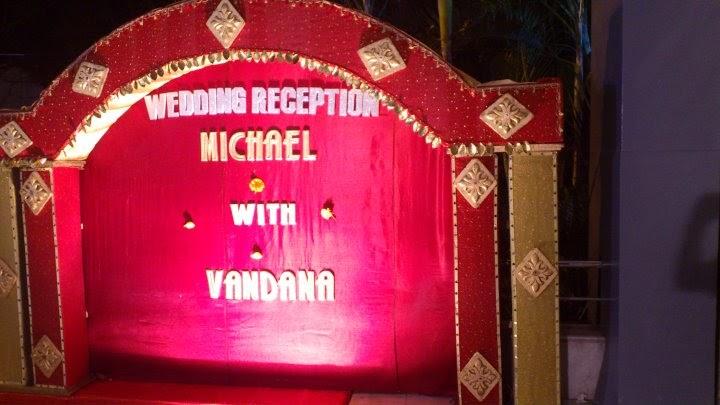Michael and vandana wedding