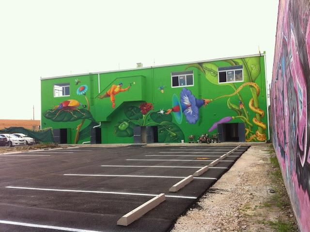 Street Art By Ukrainian Artists Interesni Kazki On The Streets Of Miami For Art Basel '13. 4