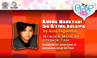 Anong Nangyari Sa Ating Dalawa by Aiza Seguerra Lyrics & Video | Himig Handog P-Pop Love Songs