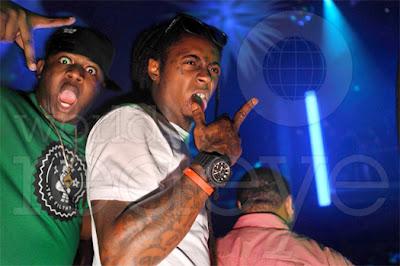 fotos raras de lil wayne ace hood mack maine y dj scoob doo en el club liv