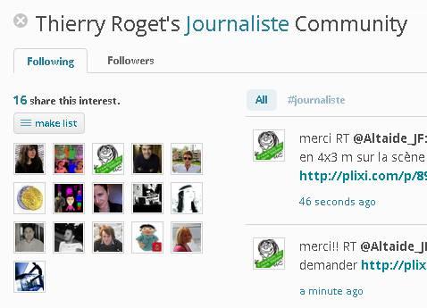 journaliste de la liste de thierry roget