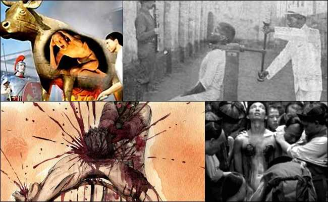 10 Hukuman Mati Kuno yang paling Brutal dan Mengerikan