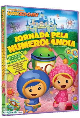 kddfnQE Umizoomi   Jornada para numerolândia AVI Dublado (2013)