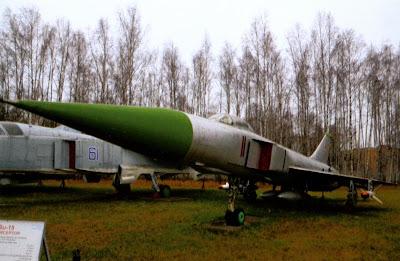 Су 15 из коллекции музея ВВС в Монино.