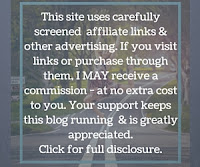 This site uses carefully screened affiliate links and other advertising. If you visit links or purchase through them, I MAY receive a commission - at no extra cost to you. Your support keeps this blog running and is greatly appreciated. Click for full disclosure.