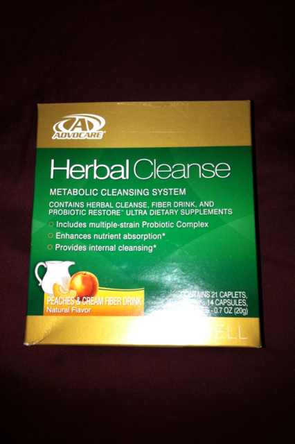 My Weight Loss and Muscle Building Journey: Advocare Herbal Cleanse