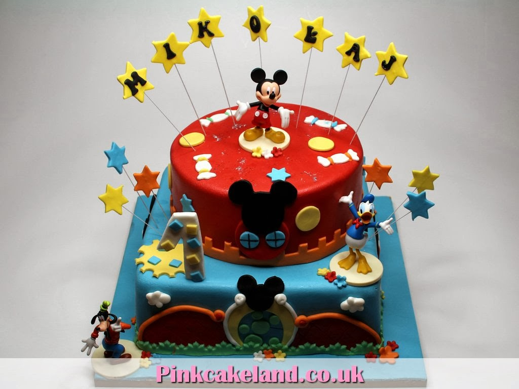 London Patisserie Mickey Mouse Clubhouse Birthday Party