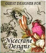 I am very proud to be a permanent DT Guest Designer for Nicecrane Designs